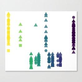 Fork Length Canvas Print