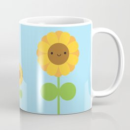 Kawaii Sunflower Coffee Mug