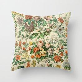 french vintage adolphe millot Throw Pillow