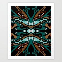 Rainforest Rhythm Art Print