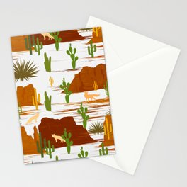 Desert Modernism-Cactus Stationery Cards