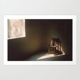 Loneliness. Art Print