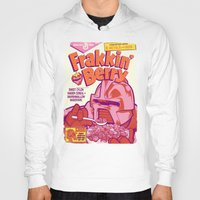 infamous Hoodies featuring FRAKKIN' BERRY by BeastWreck