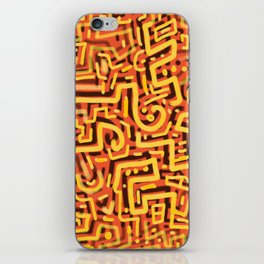 Squiggletown Sunstroke iPhone Skin