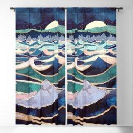Moonlit Ocean Blackout Curtain