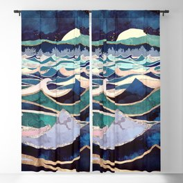 Moonlit Ocean Blackout Curtain