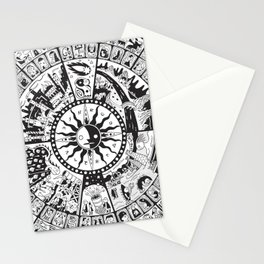 Calendar of Mysterious World Stationery Cards