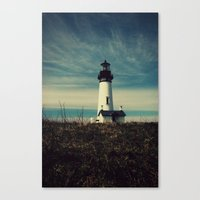 lighthouse Canvas Prints featuring Lighthouse by Yellowstone Photo Studio