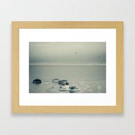 Frozen -Winter Baltic Sea Serie Framed Art Print