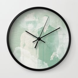 La extraña pareja Wall Clock