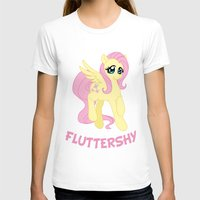 mlp T-shirts featuring MLP FiM: Fluttershy by Yiji
