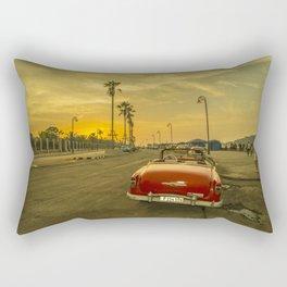 Habana convertible sunset Rectangular Pillow