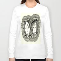sisters Long Sleeve T-shirts featuring Sisters by NazreenNizamRao