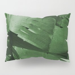 Banana Tree Leaves Pillow Sham