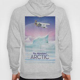 Arctic frozen flight poster. Hoody