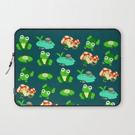 Frog Season Laptop Sleeve