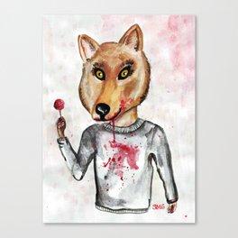 Sweet Wolfy Canvas Print