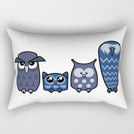 All is Owly (blue) Rectangular Pillow