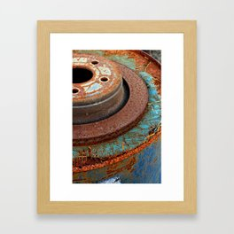 Urban Circles Framed Art Print