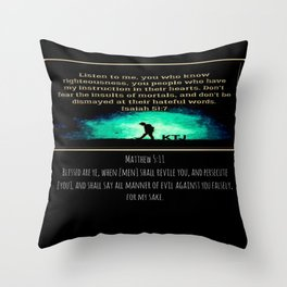 Scripture Pictures 14-01 Throw Pillow