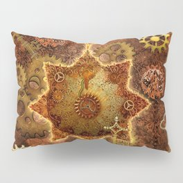 Steampunk, noble design Pillow Sham