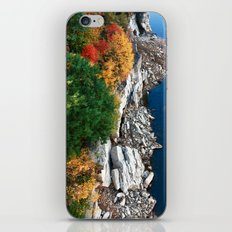 Hanging over the Cliff iPhone & iPod Skin