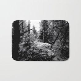 Fall Forest Morning Bath Mat
