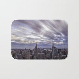 City at Sunset Bath Mat