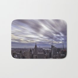 City at Sunset Bath Mat