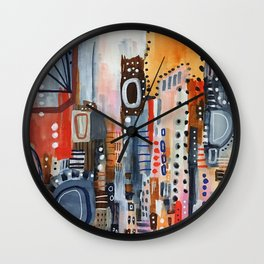 Lost in Translation Wall Clock
