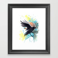 Forward Framed Art Print