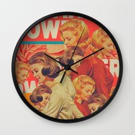 Woman Power Wall Clock