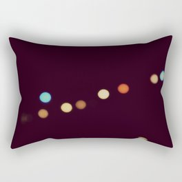 Floodlights Bokeh Light Rectangular Pillow