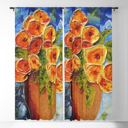 Lively garden | Jardin animé Blackout Curtain