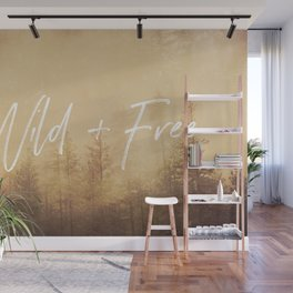 Wild And Free - Cascadia Forest Wall Mural