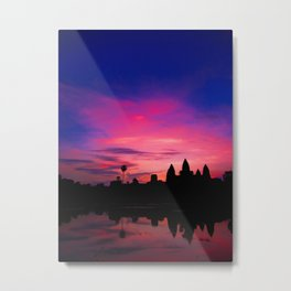 Angkor Sunrise Metal Print