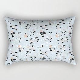 light blue terrazzo Rectangular Pillow