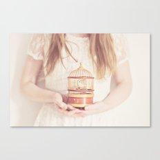 sweet nightingale Canvas Print