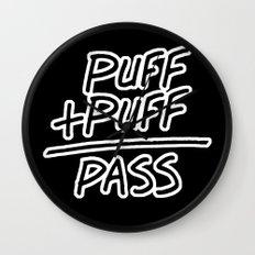 Puff + Puff = Pass Wall Clock