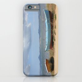 Old Rusty Boats iPhone Case