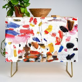 Abstract Painting #2 Credenza