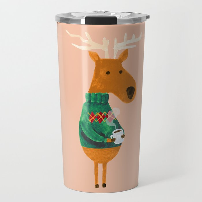 Hot Coffee Travel Mug