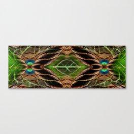 Leafy Pandanus Canvas Print