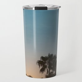 Newport Palms at Sunrise Travel Mug