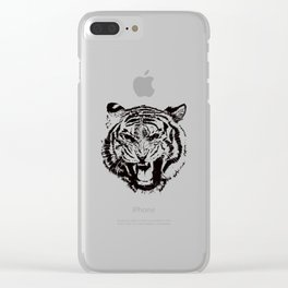 Timmy the Tiger Clear iPhone Case