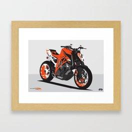 Super Duke 1290 Framed Art Print