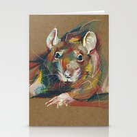 rat Stationery Cards featuring Rat by Nuance