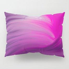 Pink and Purple Swirl Interior Design Pillow Sham