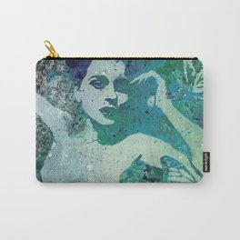 Heavy Crown (nude butterfly pin up, erotic graffiti) Carry-All Pouch