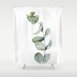 Eucalyptus, Minimalist Photography Shower Curtain